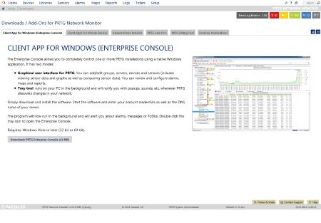 """Enterprise Console connection failure """"error in content"""