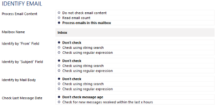Identify Email