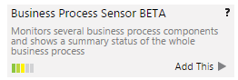 Adding the Business Process Sensor
