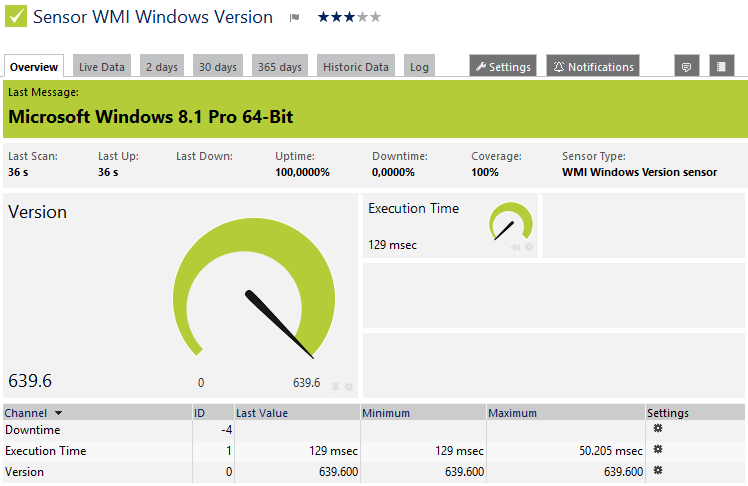 WMI Windows Version Sensor   PRTG Network Monitor User Manual