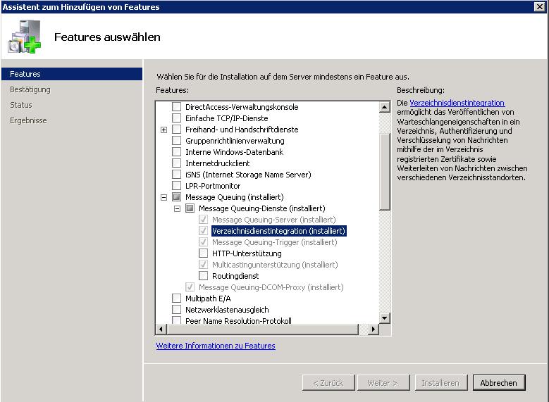 msmq windows 7
