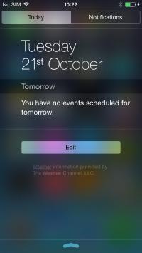 iOS Today Tab