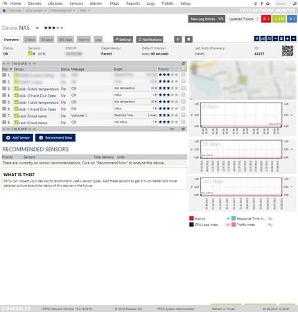 SNMP Library Sensor in PRTG